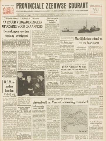 Provinciale Zeeuwse Courant 1964-12-14