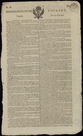 Middelburgsche Courant 1814-11-15