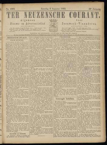 Ter Neuzensche Courant. Algemeen Nieuws- en Advertentieblad voor Zeeuwsch-Vlaanderen / Neuzensche Courant ... (idem) / (Algemeen) nieuws en advertentieblad voor Zeeuwsch-Vlaanderen 1902-08-09