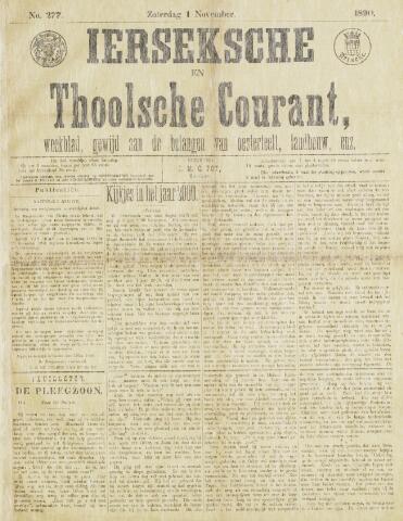 Ierseksche en Thoolsche Courant 1890-11-01