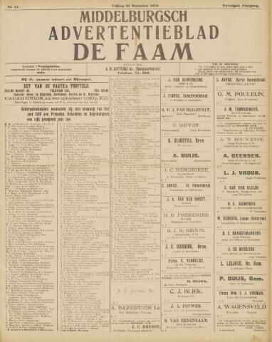 de Faam en de Faam/de Vlissinger 1915-12-31
