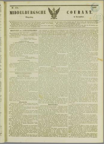 Middelburgsche Courant 1847-11-09