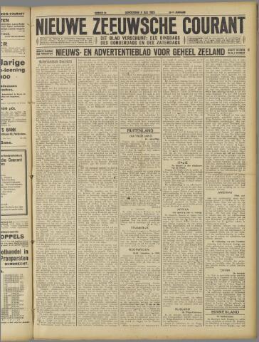 Nieuwe Zeeuwsche Courant 1925-07-09
