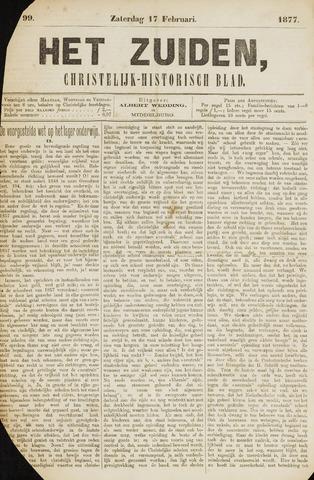 Het Zuiden, Christelijk-historisch blad 1877-02-17