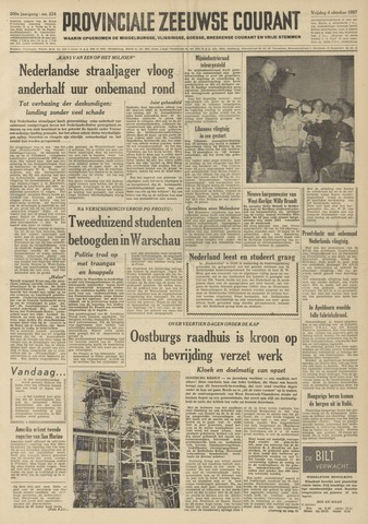 Provinciale Zeeuwse Courant 1957-10-04