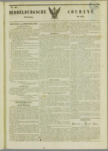 Middelburgsche Courant 1847-07-29