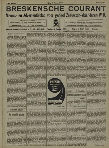Breskensche Courant 1938-02-25