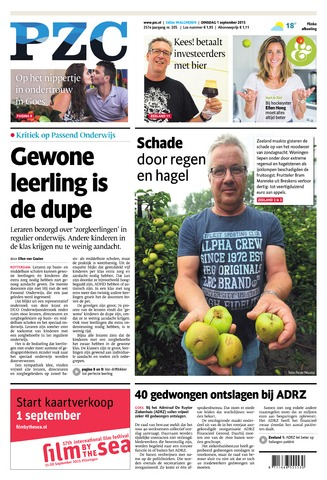 Provinciale Zeeuwse Courant 2015-09-01