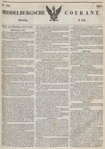 Middelburgsche Courant 1867-07-02