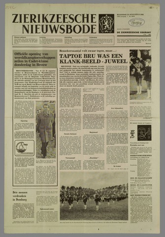 Zierikzeesche Nieuwsbode 1983-08-15