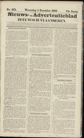 Ter Neuzensche Courant. Algemeen Nieuws- en Advertentieblad voor Zeeuwsch-Vlaanderen / Neuzensche Courant ... (idem) / (Algemeen) nieuws en advertentieblad voor Zeeuwsch-Vlaanderen 1860-12-05
