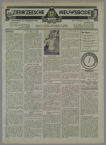 Zierikzeesche Nieuwsbode 1937-08-25