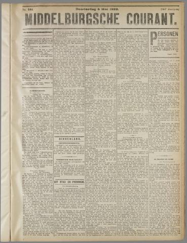 Middelburgsche Courant 1922-05-04
