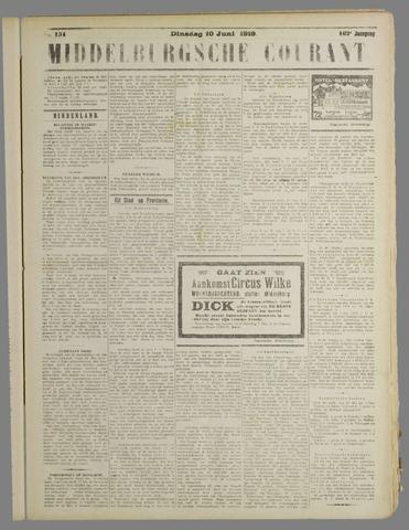 Middelburgsche Courant 1919-06-10