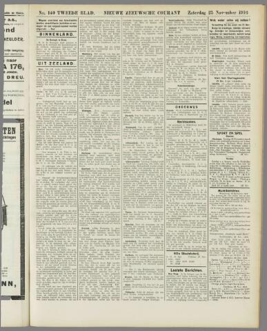 Nieuwe Zeeuwsche Courant 1916-11-28