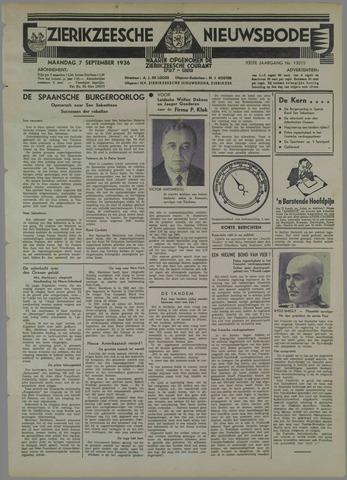 Zierikzeesche Nieuwsbode 1936-09-07