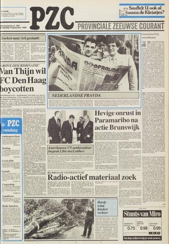 Provinciale Zeeuwse Courant 1986-09-04