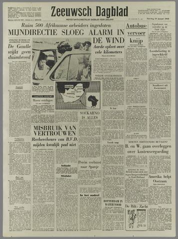 Zeeuwsch Dagblad 1960-01-23