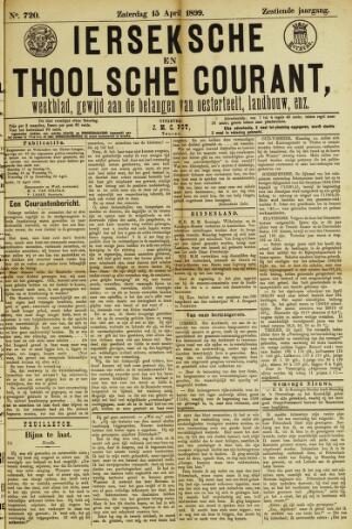 Ierseksche en Thoolsche Courant 1899-04-15