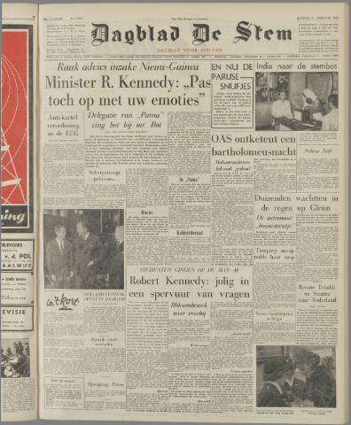 de Stem 1962-02-27