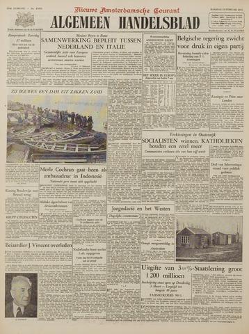 Watersnood documentatie 1953 - kranten 1953-02-23