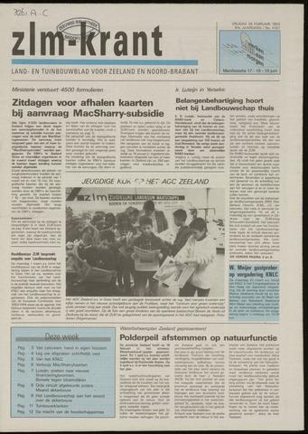 Zeeuwsch landbouwblad ... ZLM land- en tuinbouwblad 1993-02-26