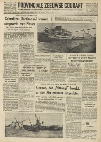 Provinciale Zeeuwse Courant 1957-02-20