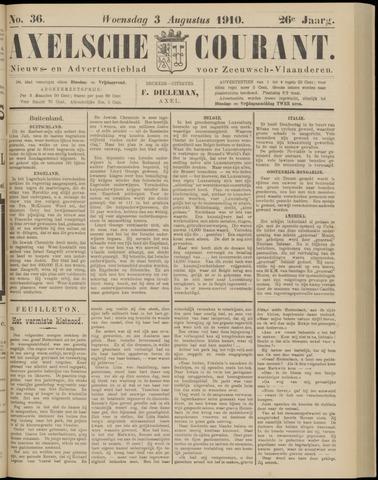Axelsche Courant 1910-08-03