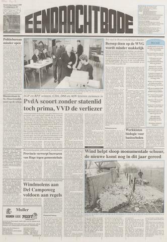Eendrachtbode (1945-heden)/Mededeelingenblad voor het eiland Tholen (1944/45) 1999-03-04