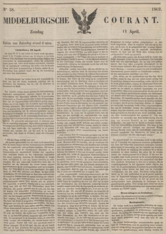 Middelburgsche Courant 1869-04-11