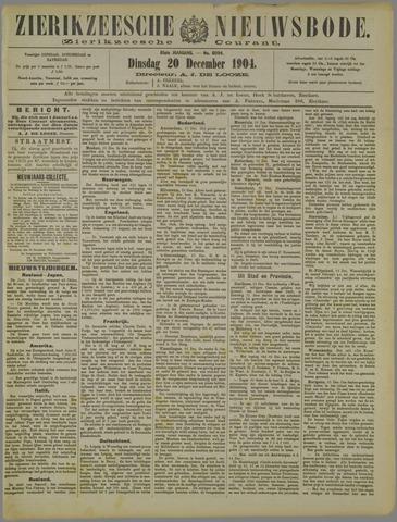 Zierikzeesche Nieuwsbode 1904-12-20