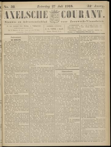 Axelsche Courant 1918-07-27
