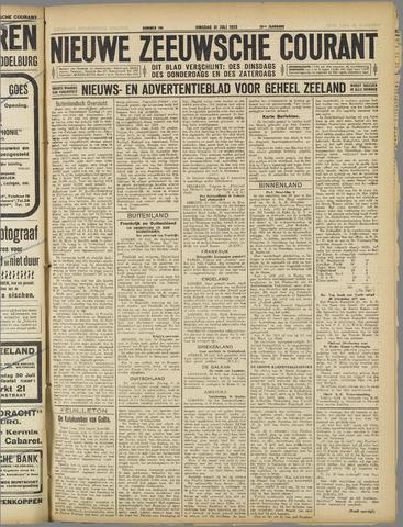 Nieuwe Zeeuwsche Courant 1923-07-31