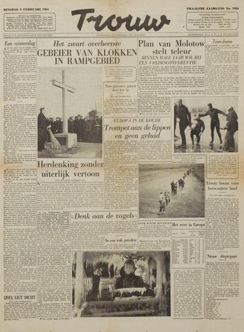 Watersnood documentatie 1953 - kranten 1954-02-02