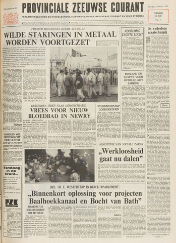Provinciale Zeeuwse Courant 1972-02-05