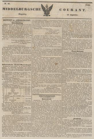 Middelburgsche Courant 1843-08-15