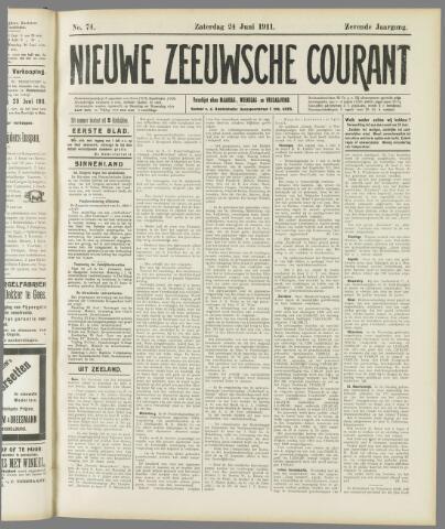 Nieuwe Zeeuwsche Courant 1911-06-24