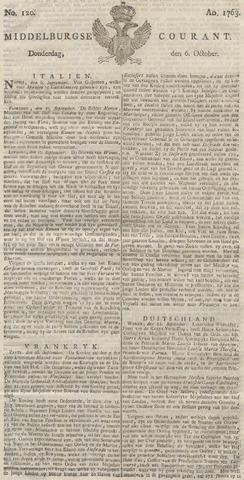 Middelburgsche Courant 1763-10-06