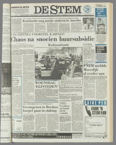 de Stem 1985-02-16