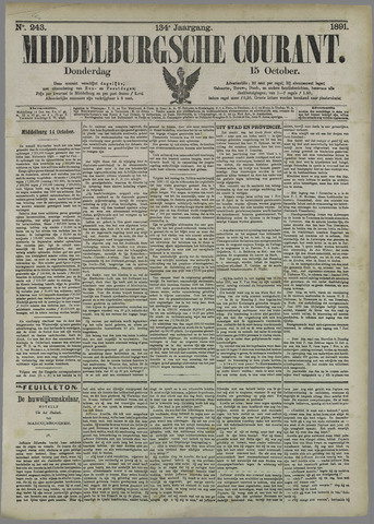 Middelburgsche Courant 1891-10-15