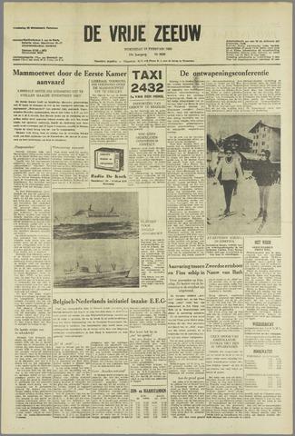 de Vrije Zeeuw 1963-02-13