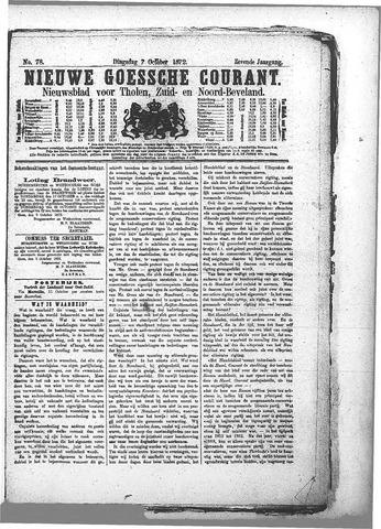 Nieuwe Goessche Courant 1872-10-07