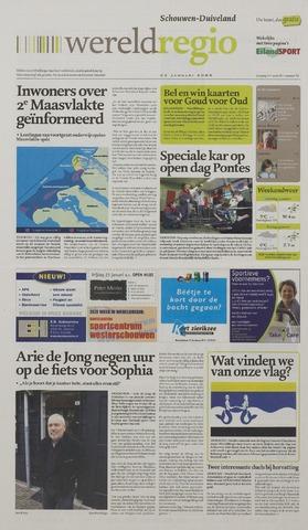 Watersnood documentatie 1953 - kranten 2009-01-23
