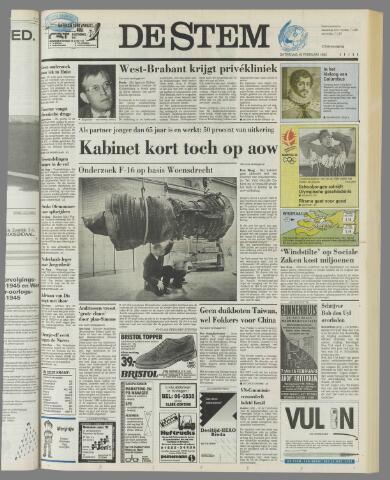 de Stem 1992-02-15