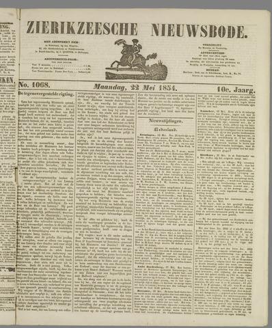 Zierikzeesche Nieuwsbode 1854-05-22