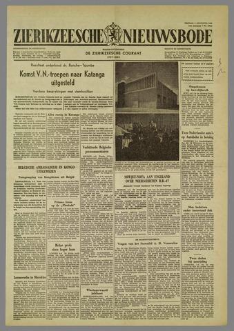 Zierikzeesche Nieuwsbode 1960-08-05