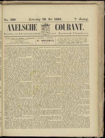 Axelsche Courant 1891-05-30