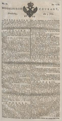 Middelburgsche Courant 1777-07-03
