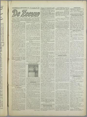 De Zeeuw. Christelijk-historisch nieuwsblad voor Zeeland 1943-09-30