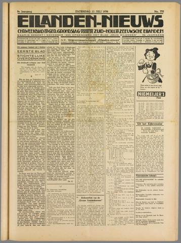 Eilanden-nieuws. Christelijk streekblad op gereformeerde grondslag 1936-07-11